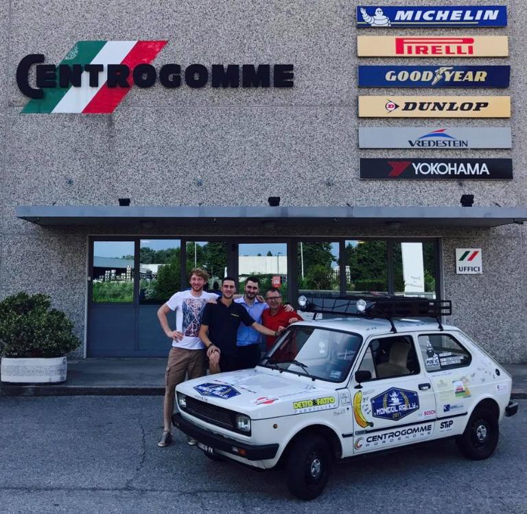CENTROGOMME sponsor dell'equipaggio italiano alla #MONGOLRALLY2017!