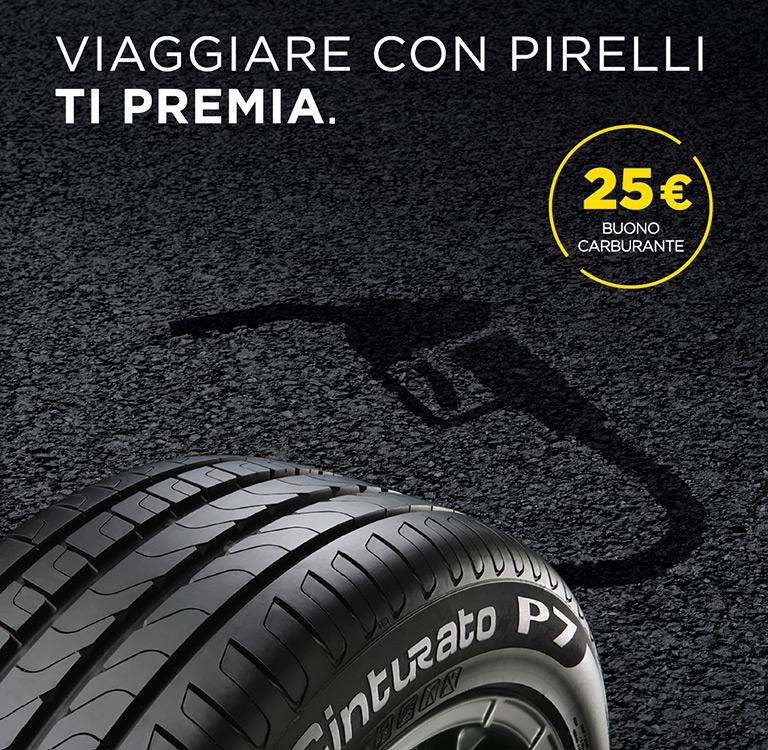 Viaggiare con Pirelli ti premia
