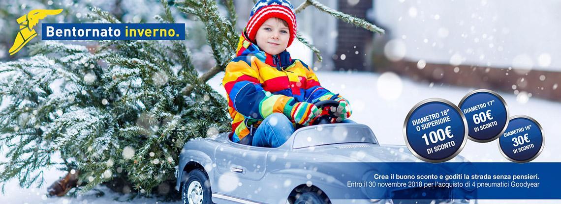 Goodyear: bentornato inverno