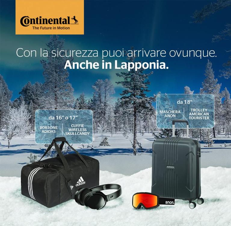 Promozione Continental Destinazione Inverno